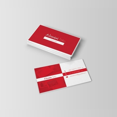 Irén Almási businesscard